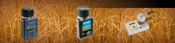 Moisture meters for grain