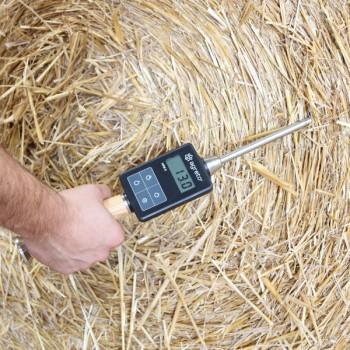 AGRETO HFM II Feuchtemessgerät für Heu und Stroh 50cm Vorführgerät