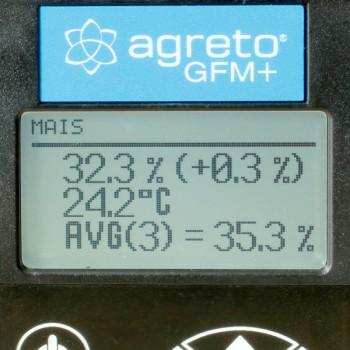 AGRETO GFM+ Getreidefeuchtigkeitsmesser - Getreidefeuchtigkeitsmessgerät