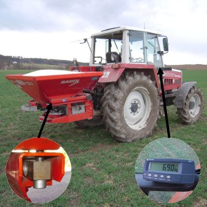 AGRETO scale kit for fertilizer spreaders