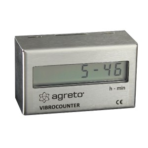 Hour meter AGRETO VibroCounter