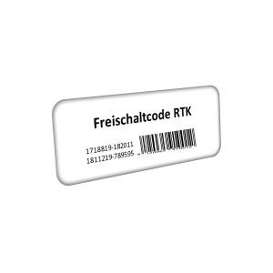 RTK Freischaltung für SMART-6