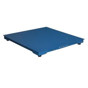 Plattformwaage mit Eichzulassung / Geeichte Waage 1 x 1 m / 600 kg