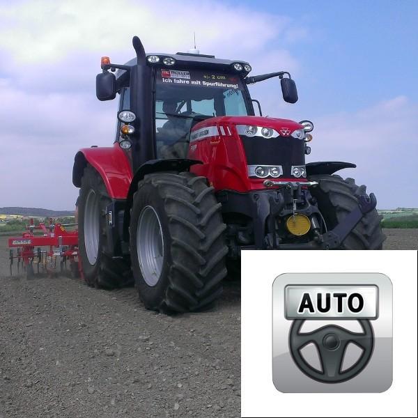 Lenksystem für vorgerüstete Maschinen TRACK-Leader AUTO ISO