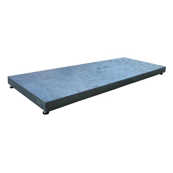AGRETO weighing platform 0,8x2m hot dip galvanized