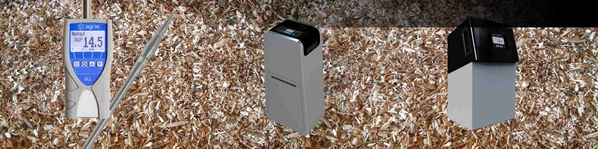 Feuchtemesser für Biomasse
